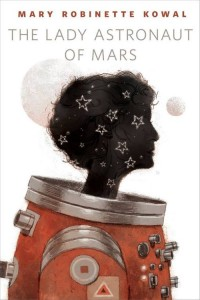 "Cover of the ebook edition of ""The Lady Astronaut of Mars""by Mary Robinette Kowal, Tor.com, 2014"