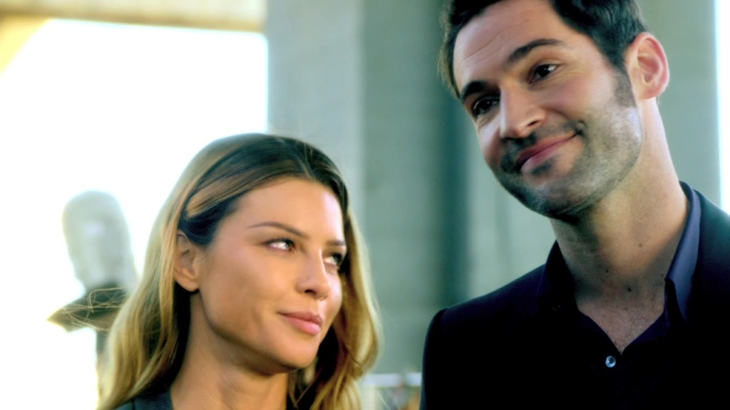 Lucifer 101, Lucifer and Claire - is this Bones!?