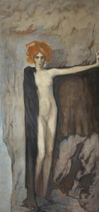 Portrait of Luisa Casati by Romaine Brooks, 1920