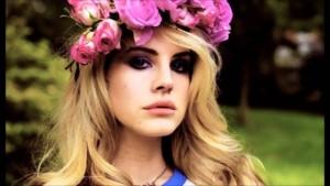 Lane Del Rey Video Games flower crown
