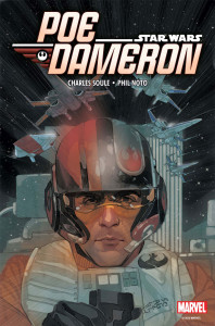 Phil Noto cover for Marvel's Poe Dameron series. Credit Marvel/Phil Noto