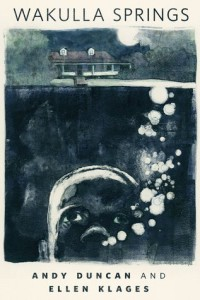 Cover of Wakulla Springs, published by Tor. Illustration by Gary Kelley.
