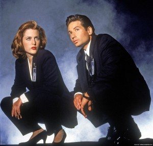 X-Files 90s Promo Shot, Fox
