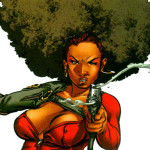 Misty Knight, Daughters of the Dragon, Marvel Comics, 2006: Writer: Justin Gray Penciller: Khari Evans Cover Artist: Khari Evans