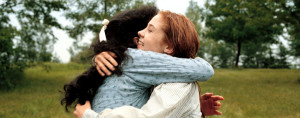 Anne and Diana hug from Anne of Green Gables, image credits: CBC