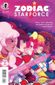 Zodiac Starforce #4 Kevin Panetta (script), Paulina Ganucheau (art) Dark Horse February 10, 2015