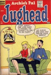 Jughead #66, art by Samm Schwartz, Archie Comics, 1960