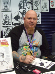 OK TRUE BELIEVERS comic con 2016, cheltenham, pictures by Claire Napier