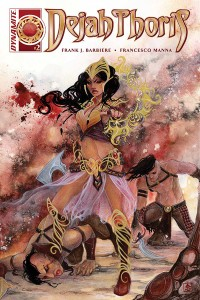 Dejah Thoris #2 Frank J. Barbiere (writer), Francesco Manna (art), NEN (cover) Dynamite Comics, March 2, 2016