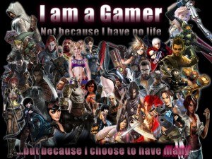 I AM A GAMER, created by Wendy Browne http://www.nightxade.com/2012/08/i-am-gamer.html
