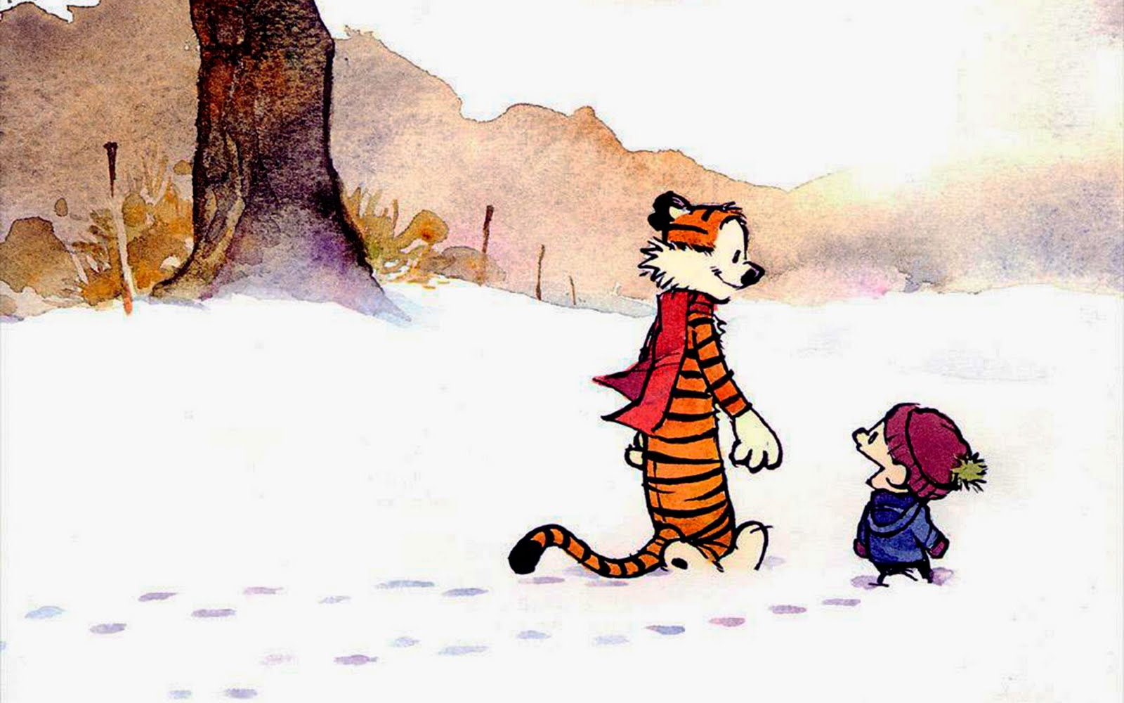 Let It Snow, Let It Snow, Hey Let's Go! Calvin, Hobbes, and Snow