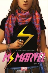 French cover of Ms. Marvel. Credit Marvel/Panini Press.