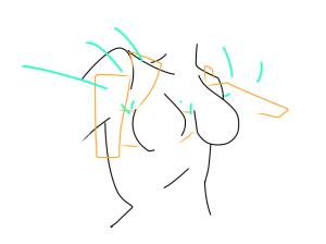 Claire Napier, Misty Knight Bra Diagram, 2016