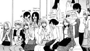 Takemiya Jin, yuri manga