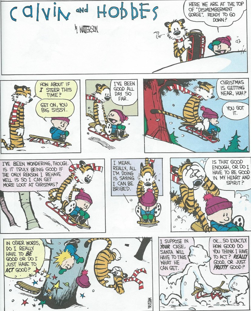 The Calvin and Hobbes Lazy Sunday Book, Bill Watterson, Andrews and McMeel, 1989