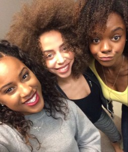 Josie and the Pussycats (Irie Hayleau, Ashanti Bromfield and Ashleigh Murray)