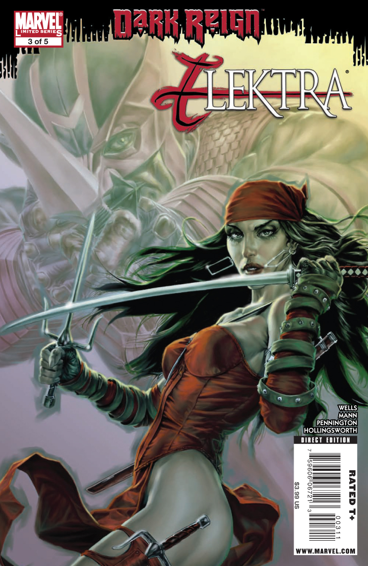 Elektra's Silence and Victimization in Dark Reign