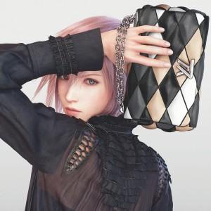 Final Fantasy Louis Vuitton Lightning
