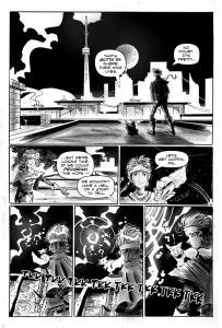 Ghost of Bellwoods Past by Shawn Daley. Preview. 2016. Toronto Comics.