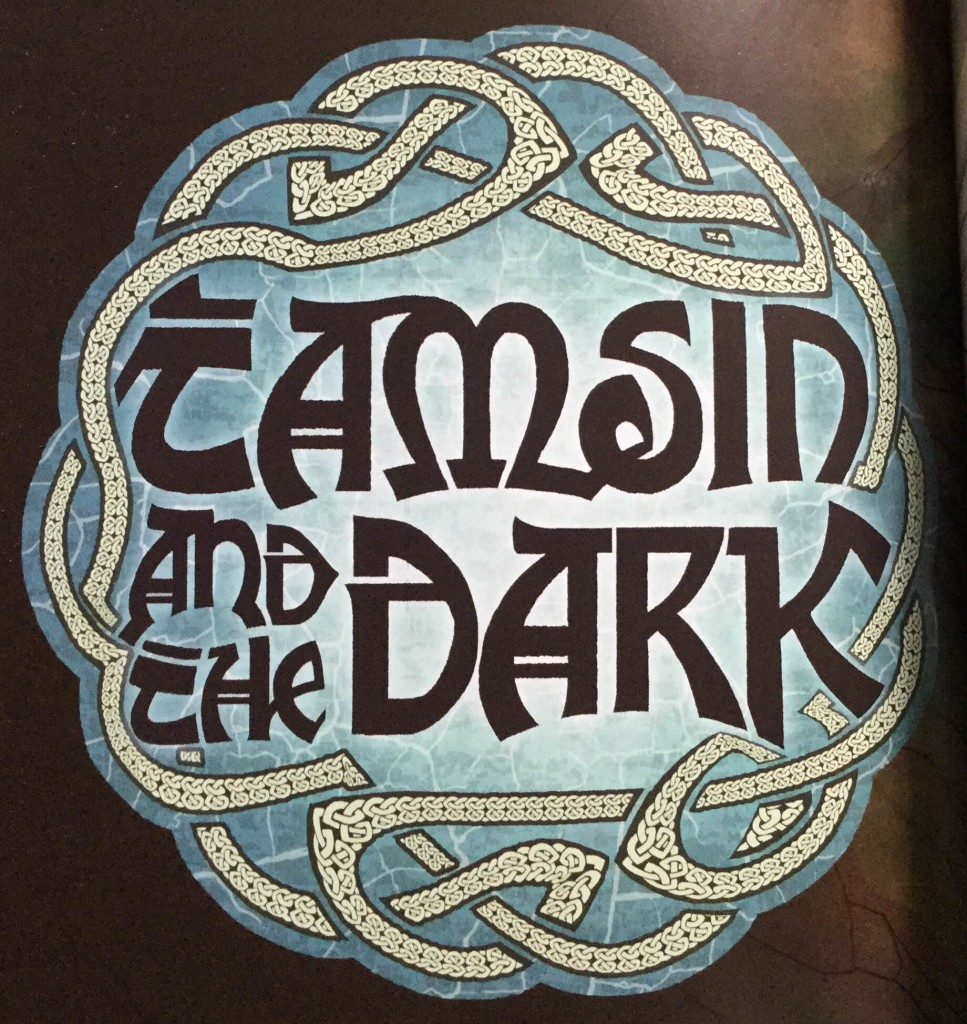 Logo: Tamsin & The Dark, Kate Brown & Neill Cameron, The Phoenix and David Fickling Books