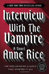 Interview with the Vampire book cover. Image from amazon.com.
