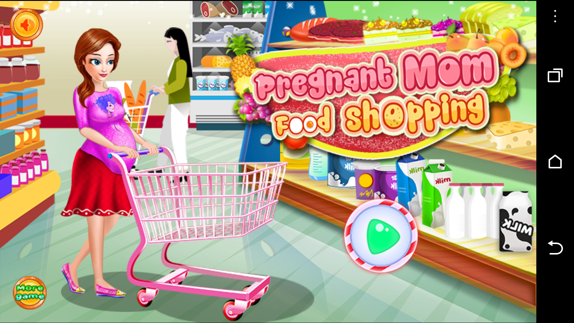 Pregnant Mom Food Shopping, bxapps Studio, 2015