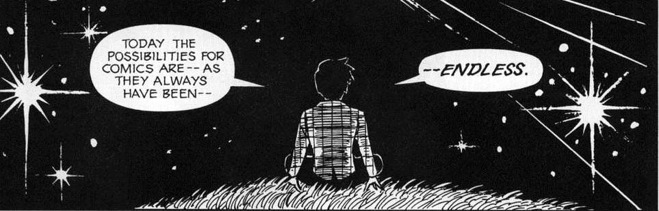 Comics' Infinite Scroll: To The Rim and Beyond