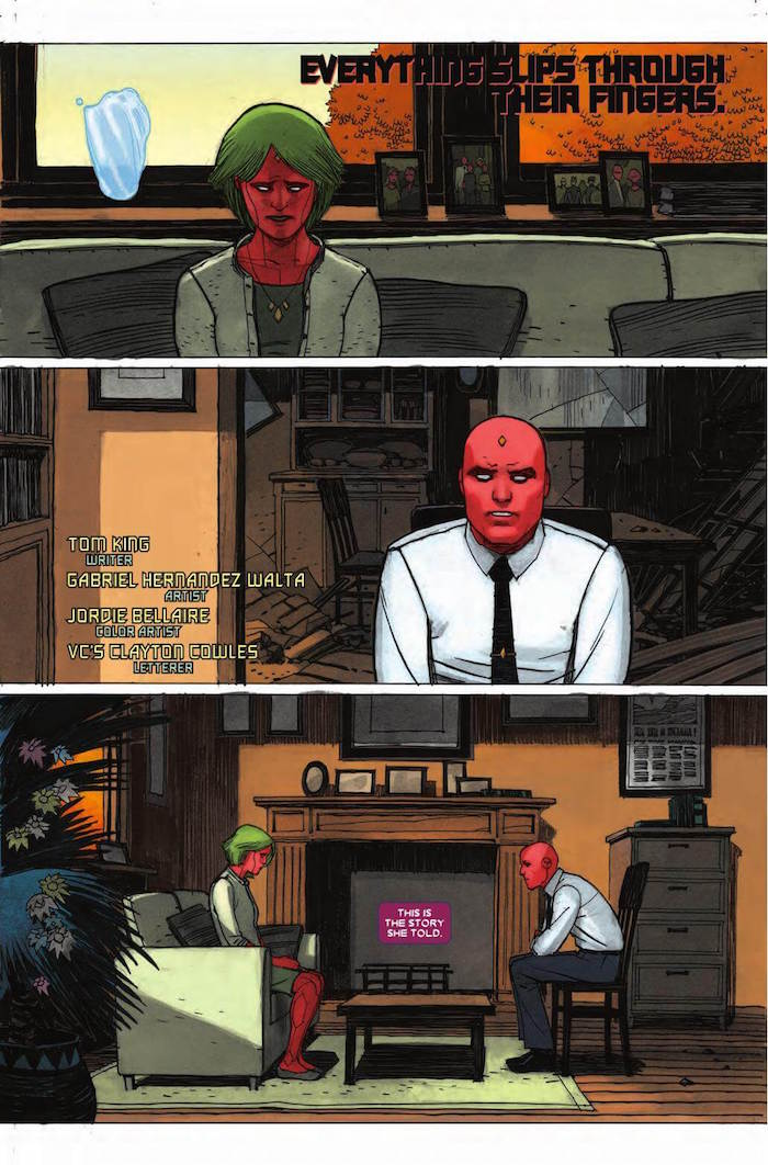 Marvel's The Vision, by King, Walter, Bellaire & Cowles