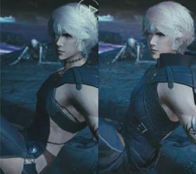 Wol Final Fantasy Mobeus Outfit comparison | http://finalfantasy.wikia.com/wiki/Wol_(Mobius)