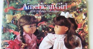 American Girl Holiday 1998 Catalogue, image via Ebay