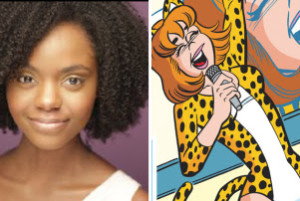 Ashleigh Murray as Josie McCoy in CW's Riverdale.