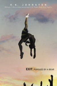 Exit, Pursued By A Bear E.K. Johnston Dutton Books for Young Readers/Penguin Random House Canada March 15, 2016