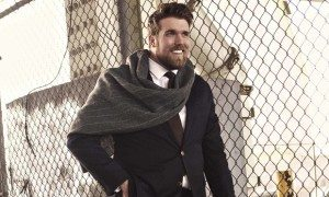 Model Zach Miko. Photograph: Leonardo Corredor