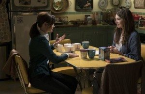 Gilmore Girls screenshot from revival, copyright of Netflix
