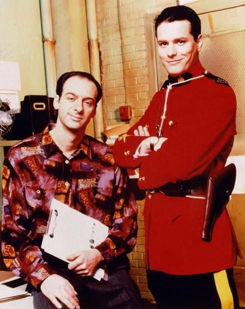 The 90s were a different era, when a Chicago cop and Canadian mountie could both commit crimes against fashion.