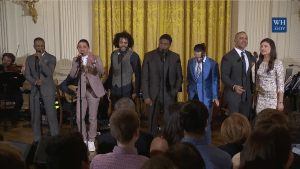 Hamilton Cast at the White House March 15 2016