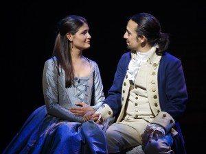 Hamilton - Philippa Soo Lin Manuel Miranda (Joan Marcus, Broadway.com)
