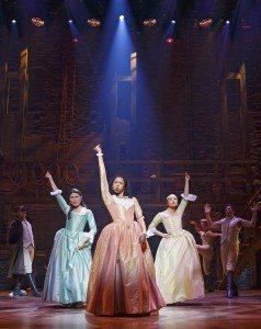 Hamilton - Schuyler Sisters (Joan Marcus, Broadway.com)