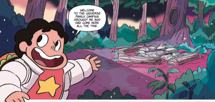 Urban Legends with the Crystal Gems: Review of Steven Universe #1