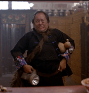 Victor Wong in Big Trouble in Little China.