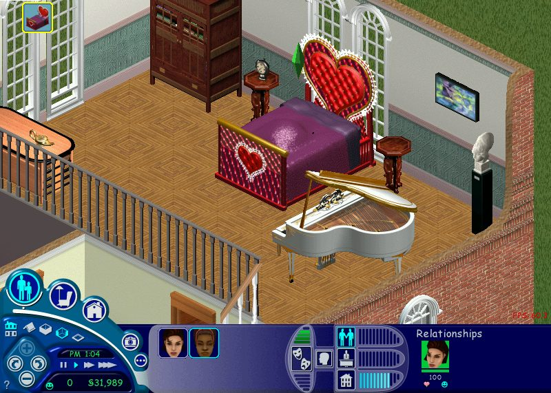 'Ugly as sin' has never been a more appropriate descriptor than when applied to the Vibromatic Heart Bed, the tackiest piece of decor to ever appear in every single one of my Sims households.