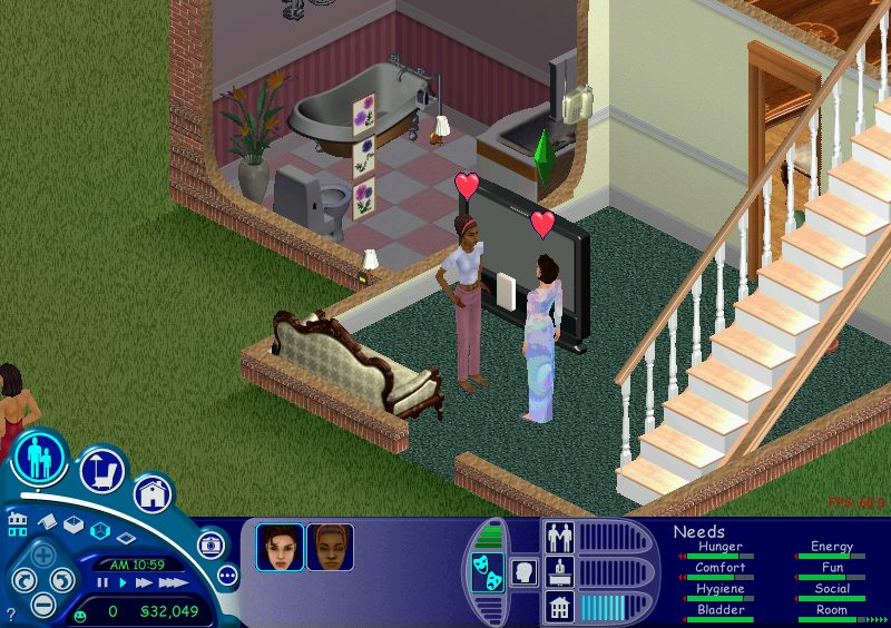 Prior to The Sims, I don't remember a single instance of same-gender relationships in any piece of media other than Xena: Warrior Princess, and even that was couched in subtext and secondary reasons for makeouts.