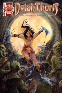 Dejah Thoris #3 Cover A: NEN Writer: Frank J. Barbiere Art: Francesco Manna, Dynamite Comics, April 2016