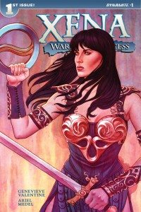 Xena #1, words by Genevieve Valentine, cover by Jenny Frisson, Dynamite 2016