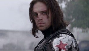 Sebastian Stan as Bucky Barnes in Captain America: The Winter Soldier