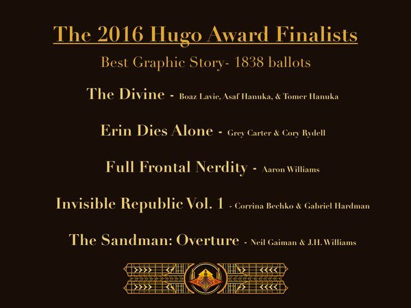 Best Graphic Story 2016