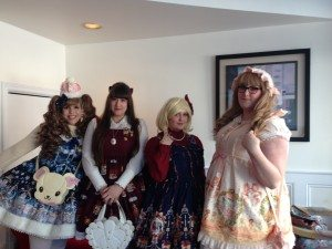 Cafe Princess Lolitas by Adrianna Di Florio