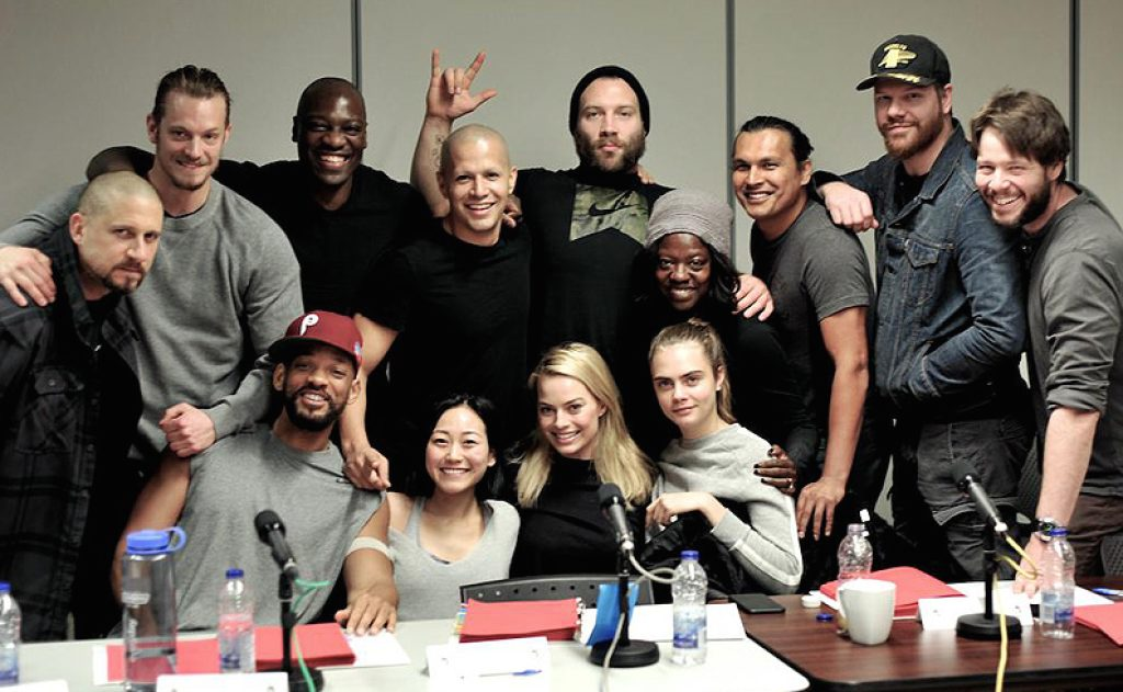 The cast of the upcoming Suicide Squad.