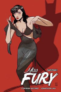 Miss Fury Vol 2, issue 2, written by Corinna Beckho, cover by Tula Lotay, Dynamite 2016