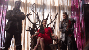 ALIE on the throne, The 100 (CW, 2016)